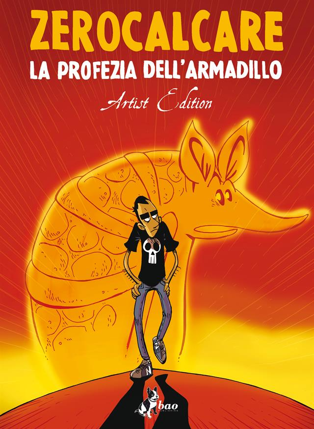 COVER LA PROFEZIA DELL'armadillo Artist Edition