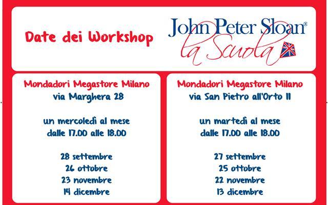 Locandina Mondadori Workshop MI
