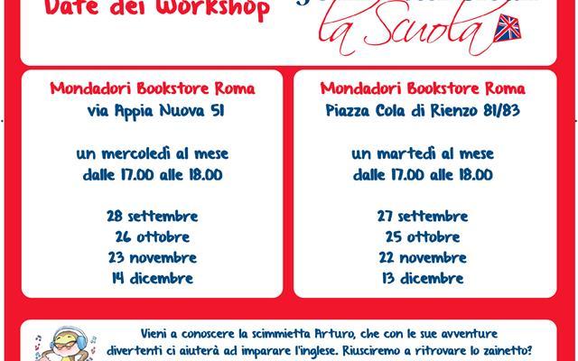 Locandina Mondadori Workshop RM