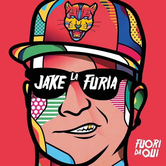Copertina Album Jake La Furia Fuori Da Qui